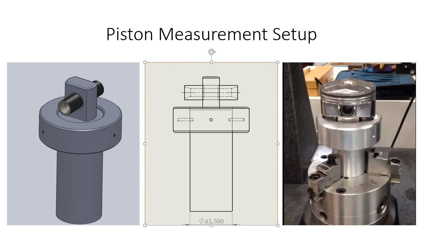 Piston Measurement Setup